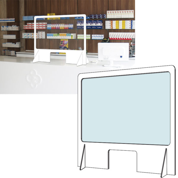 Mampara PVC